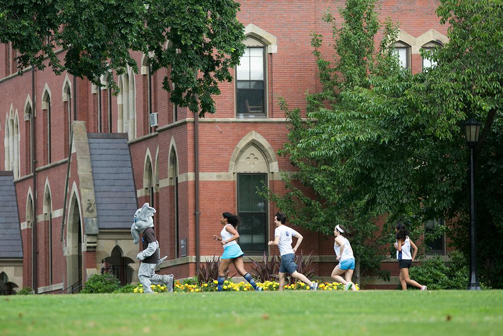Tufts campus run